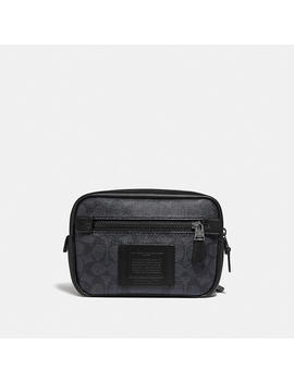 Academy L Pack In Signature Canvas by Coach