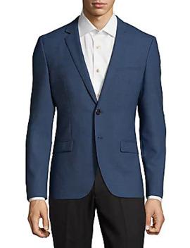 Wool Slim Fit Jacket by Hugo