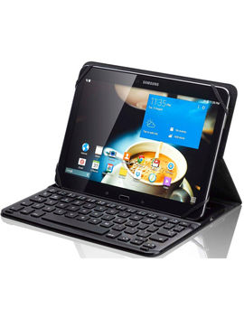 "S10 Ukbf14 10"" Keyboard Folio Case   Black by Currys"