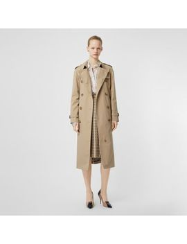 The Waterloo Trench Coat by Burberry