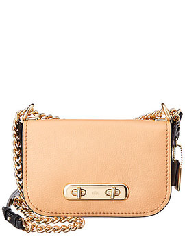 Coach Swagger Leather Shoulder Bag by Coach