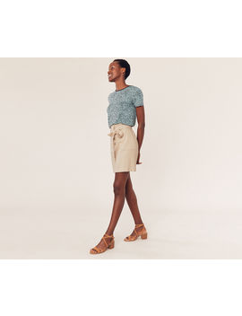 Belted Paperbag Skirt by Oasis