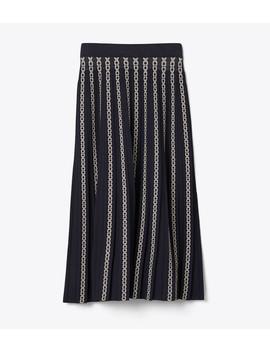 Gemini Link Jacquard Skirt by Tory Burch