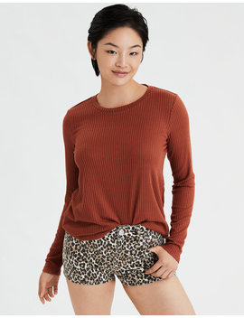 ae-soft-&-sexy-plush-long-sleeve-t-shirt by american-eagle-outfitters