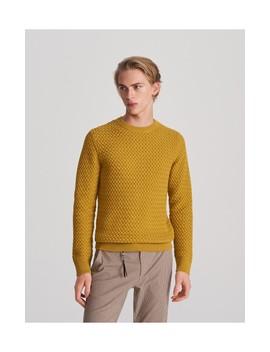 Sweter Ze Strukturalnym Splotem by Reserved