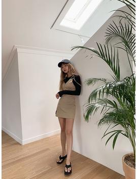 Asymmetrical Sleeveless Mini Dress by Stylenanda