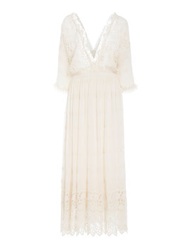 Delfina Crochet Maxi Dress by Tradesy