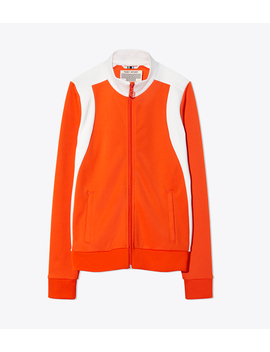 Color Block Track Jacket by Tory Burch