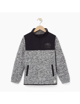 Boys Multi Fabric Pullover Boys Multi Fabric Pullover by Roots