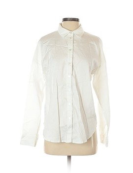 Long Sleeve Button Down Shirt by Forever 21