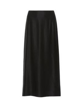 Silk Satin Midi Skirt by Vince