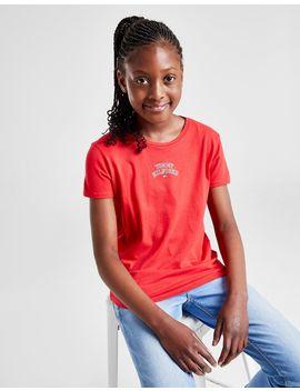Tommy Hilfiger Girls' Logo T Shirt Junior by Tommy Hilfiger
