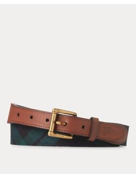 tartan-wool-belt by ralph-lauren