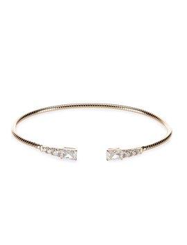 Rae Flexi Cuff Bracelet by Nadri
