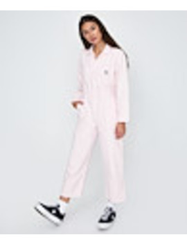 Somerset Boilersuit Pink by General Pants Co