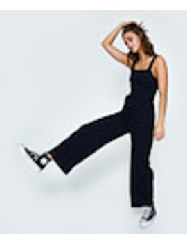 Jane Denim Jumpsuit Deep Indigo Blue by General Pants Co