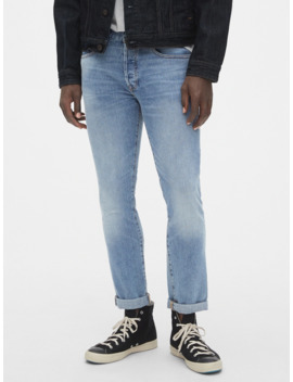 Skinny High Roller Jeans With Gap Flex by Gap