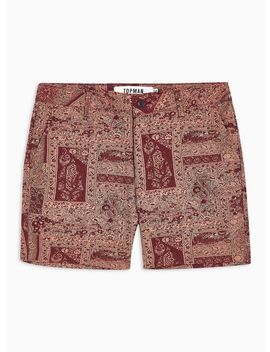 Tapestry Woven Shorts by Topman