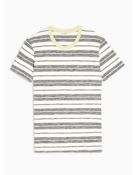 Selected Homme Stripe 'kasper' Organic Cotton T Shirt by Topman