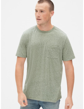 Marl Pocket T Shirt by Gap
