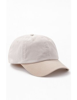 Two Tone Strapback Dad Hat by Pacsun