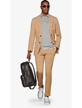 Havana Camel Suit by Suitsupply