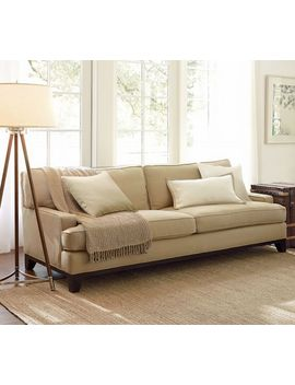 Seabury Upholstered Sofa by Pottery Barn