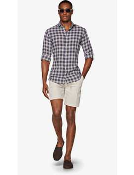Multicolor Check Shirt by Suitsupply