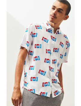 Pepsi Button Up Shirt by Pacsun