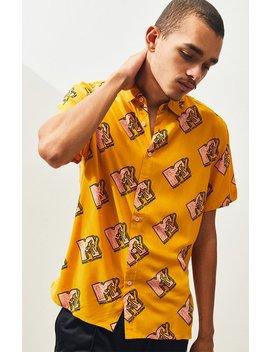 Mtv Button Up Shirt by Pacsun