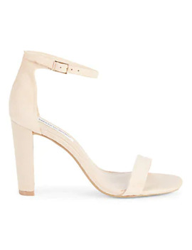 Brooke Suede Ankle Strap Sandals by Saks Fifth Avenue