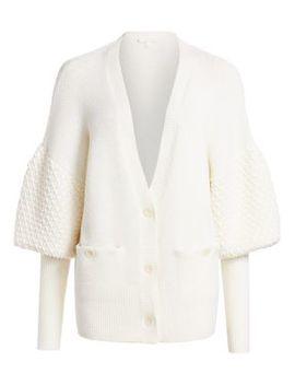 Lofty Merino Wool Cardigan by Jonathan Simkhai