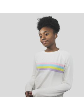 Sample  Unisex Rainbow Sweater by Kokopiecoco