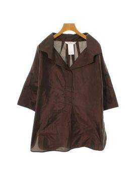 Max Mara  Tops &Amp; Blouses  540868 Brown 40 by Unbranded