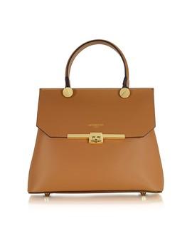 Atlanta Top Handle Satchel Bag by Le Parmentier