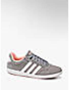 Sneakersy Damskie Adidas Vl Hoops Low by Adidas