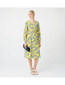 Cara Silk Dress by Hobbs