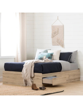 South Shore Fynn Mates Bed With Storage Drawers by Generic
