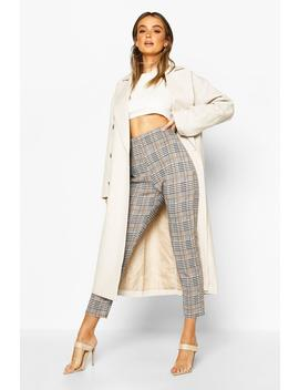 Check Trouser by Boohoo