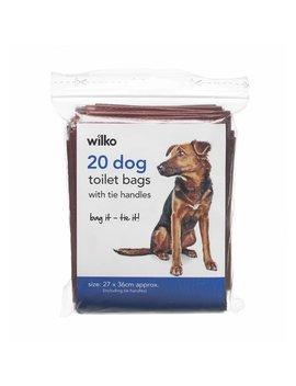 Wilko 20 Pack Dog Toilet Bags Wilko 20 Pack Dog Toilet Bags by Wilko