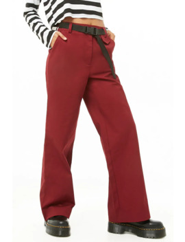 High Rise Trousers by Forever 21