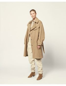 Gabao Trench by Isabel Marant