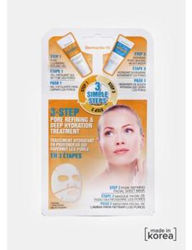 3 Step Pore Refining Sheet Mask Set by Miss A