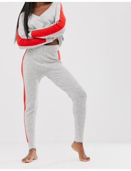 Asos Design   Ensemble Pantalon De Jogging Et Pull En Maille à Liserés by Asos Brand