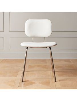 Cocina Faux Leather Dining Chair by Crate&Barrel