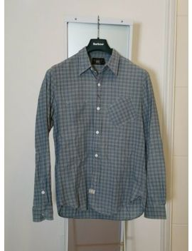 Rrl Shirt S. Checked Grey/Blue Workware. Excellent Condition. by Ebay Seller
