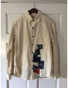 Japan Blue Revolve Patchwork Shirt Jbsf02 5oz Natural Chambray   Medium (Us Sm) by Ebay Seller