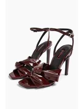 Rumba Patent Sandals by Topshop