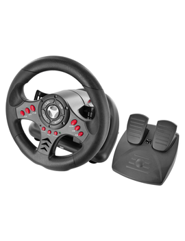Subsonic Universal Steering Wheel & Pedals For Playstation 3 / 4, Ps3 / Ps4 And Xbox One by Game