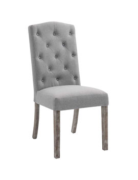 Meyer Linen Dining Chair, Taupe Meyer Linen Dining Chair, Taupe by At Home